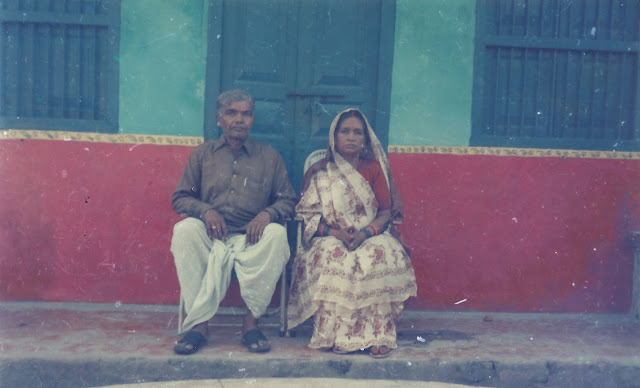 My grandparents - swati swaraj and shaurabh bharti