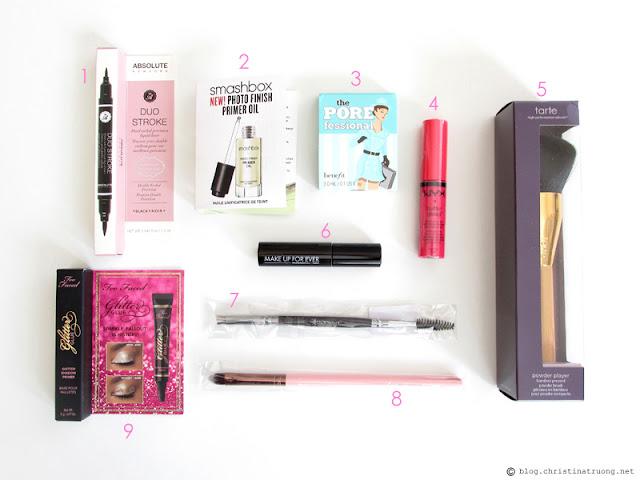 Generation Beauty GenBeauty 2016 Toronto Haul Day 1 Gift Bag