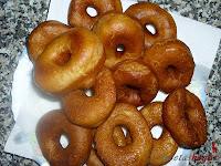 Donuts caseros-donuts fritos