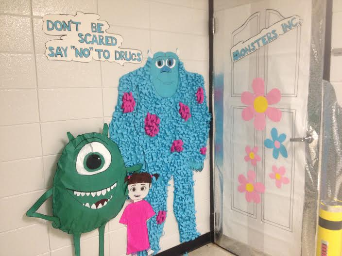 Schools Monsters Inc Takes The Prize At High School Drug Free Contest