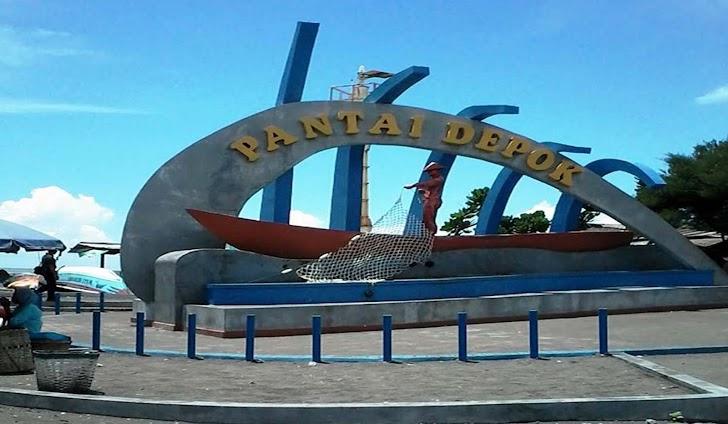 Menyantap Sea Food yang Lezat sambil menikmati Deburan Ombak Di Pantai Depok