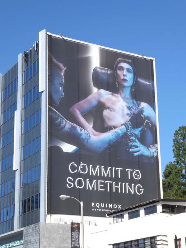 Equinox Mastectomy tattoo Commit to Something billboard