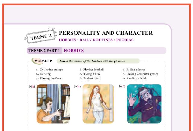 9. Sınıf Yıldırım Yayınları İngilizce A1.2 Ders Kitabı 23. Sayfa Cevapları Theme 2 Personality and Character