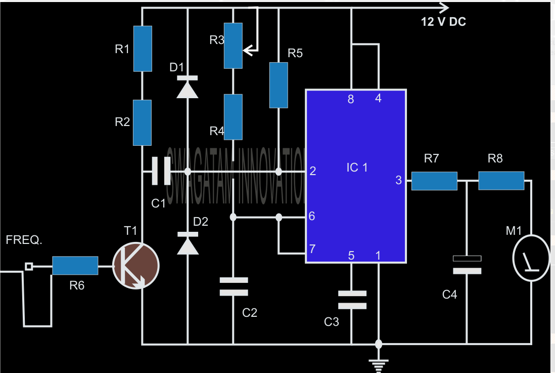 make this simple tachometer circuit