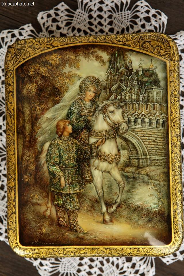 русская лаковая миниатюра фото