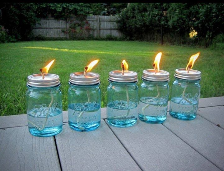 I Can T Pin It Homemade Citronella Candles For Backyard Parties