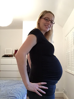 A 40 week pregnancy bump