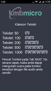 Klakson Telolet Apk download | aqilsoft