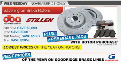 Rotors On Sale At Stillen Including Nissan Gt R Ccm