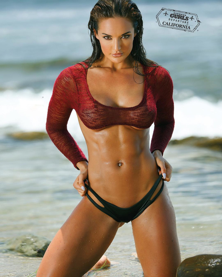 WBFF Pro Competitor and Fitness Model Whitney Johns