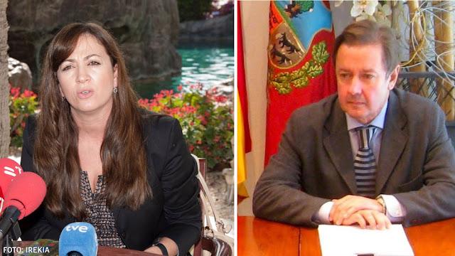 Isabel Muela y Pedro Jáuregui