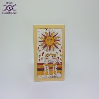 Tarot de Marseille (Heron) - Box (Back)