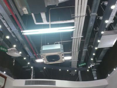 Lắp đặt hệ thống điều hòa tại bệnh viện Hồng Ngọc
