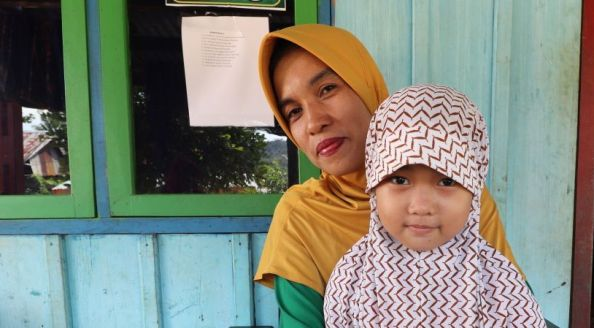 Rodhioah Mardiah Asal Selayar, Jadi Peserta Termuda MTQ Sulsel 2018 di Lutim