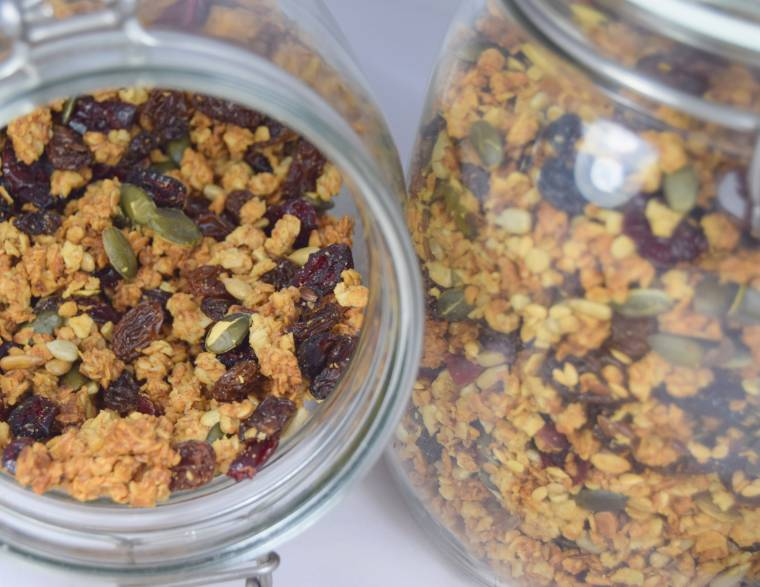 Home-made Granola For Some Tasty Breakfast Ideas