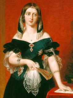 La reina Victoria de Inglaterra, reposando tras una intensa y agotadora jornada de visita a la Exposición. Espero que vosotros no estéis tan cansados como ella tras concluir mi relato. Hasta otro día, y gracias nuevamente.