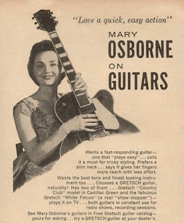 Mary Osborne on guitars.