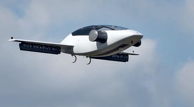 Электросамолет Литиум Джет | Lilium Jet