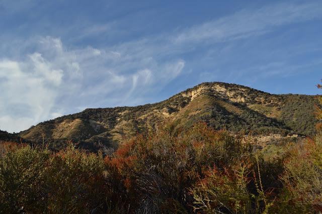 hills and cliffs