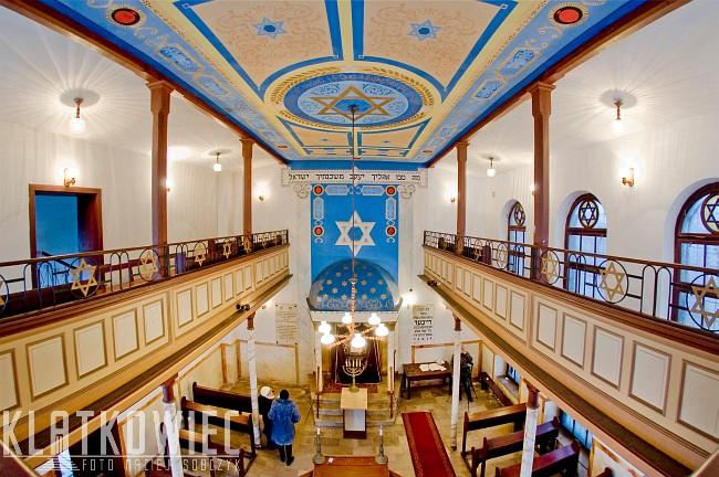 Łódź: synagoga Reicherów