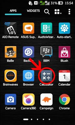 Kode Rahasia Pada HP Smartphone Asus All Type Update Terbaru