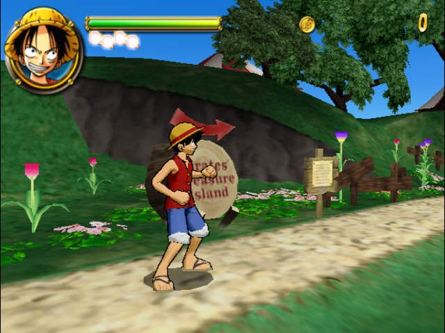 One Piece Round the Land PS2 GAME ISO Screenshot 2