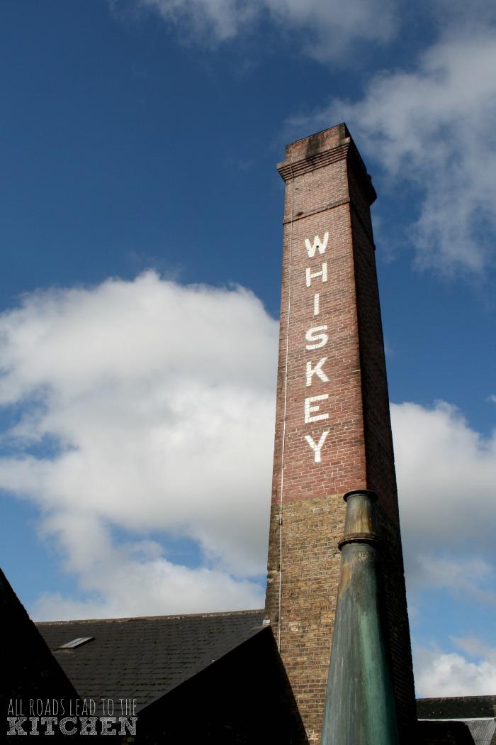 Smokestack at the Kilbeggan Whiskey Distillery