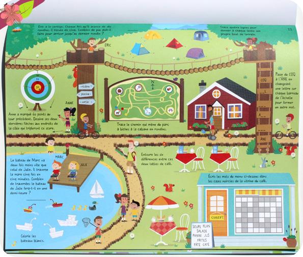 Jeux pour jours de pluie - éditions Usborne