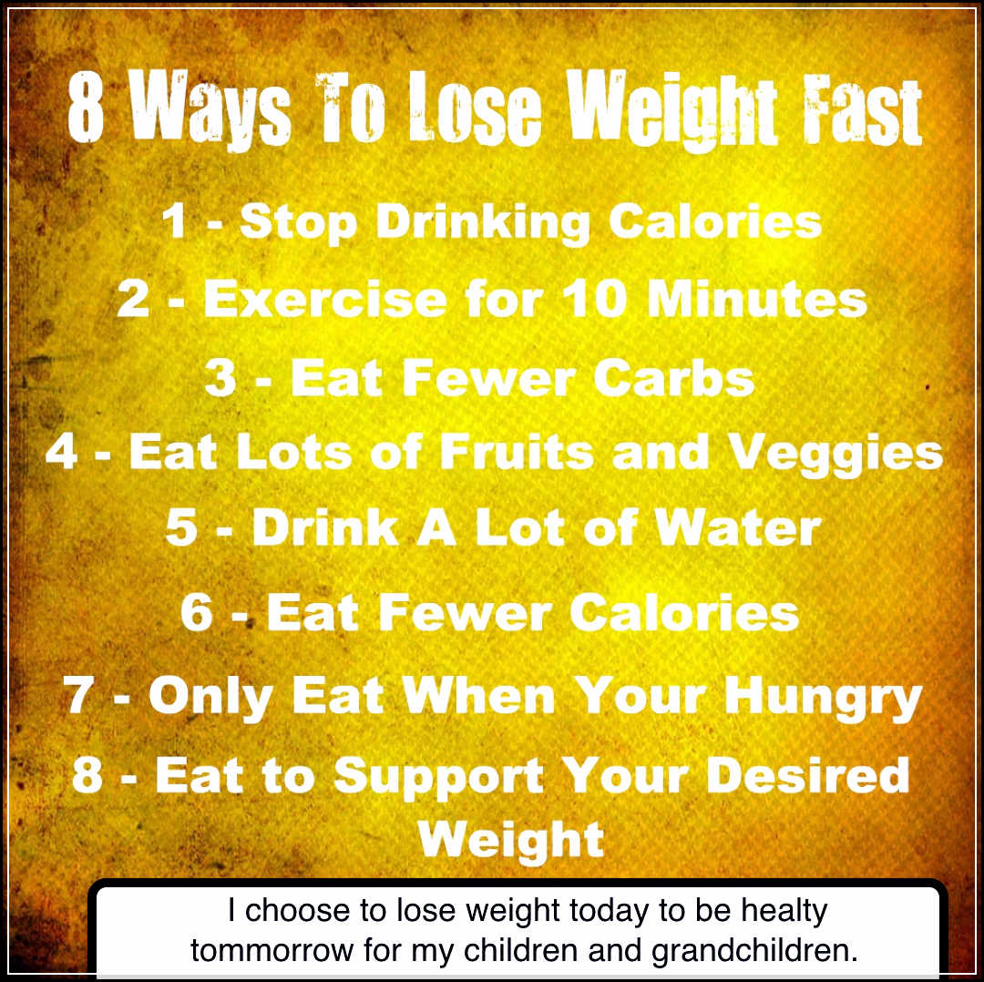 How to Lose Weight Fast without Any Exercise - Your ...