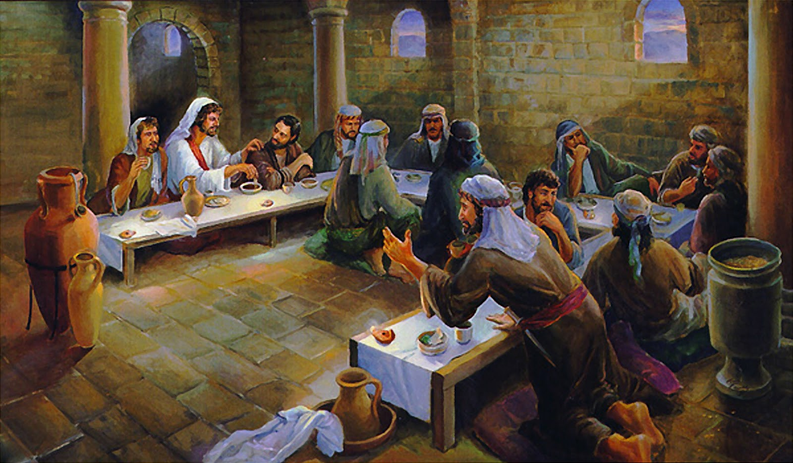 Redeemer Of Israel The Setting Of The Last Supper A
