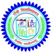 Ranchi University Recruitment 2017