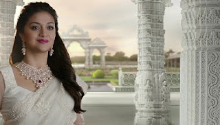 Keerthy Suresh in Saree for AVR Jewellers Ad Images 3