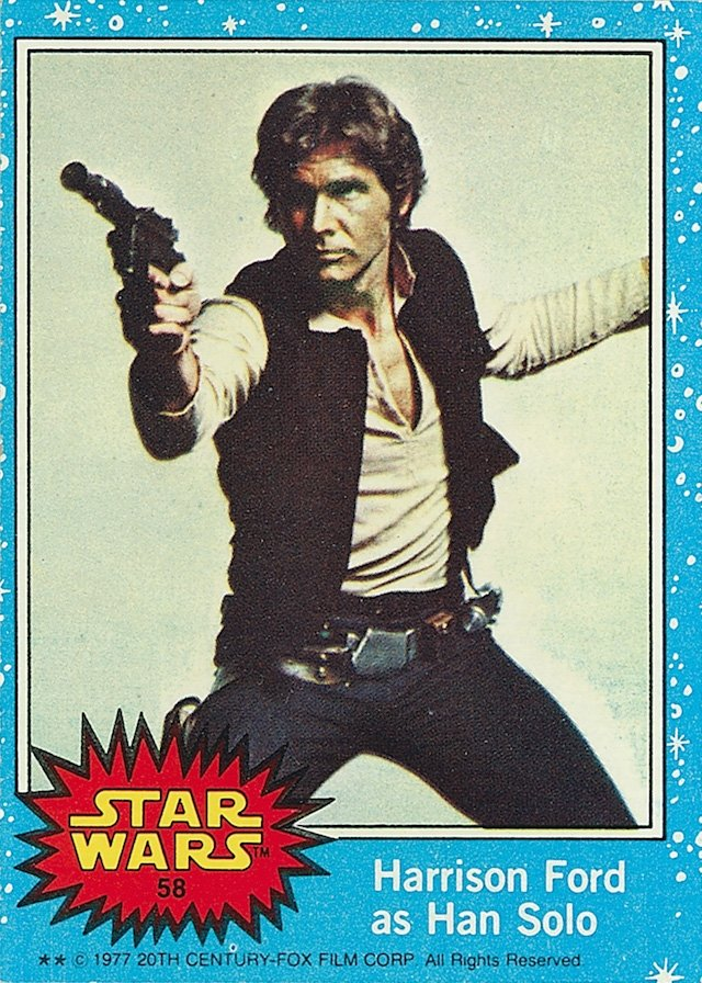 LasMilVidas #LibrosPOP | Star Wars: The Original Topps Trading Card Series, Volume One by The Topps Company, Gary Gerani, and Robert Conte © Abrams ComicArts and Lucasfilm, LTD 2015