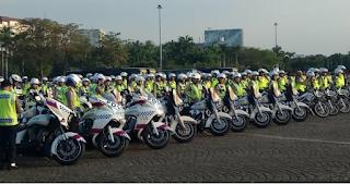 Jelang lebaran, 1.896 personel TNI-Polri gelar pasukan di Monas