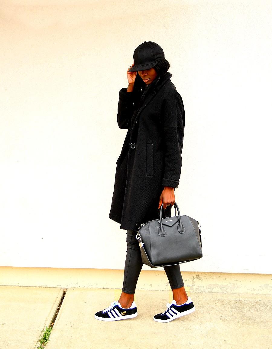 blog-mode-adidas-gazelle-manteau-oversize-sac-givenchy-antigona-all-black