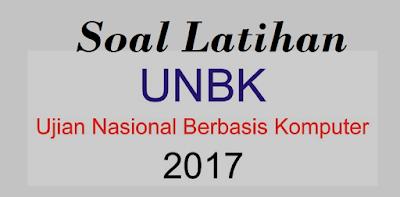 Soal UNBK 2017