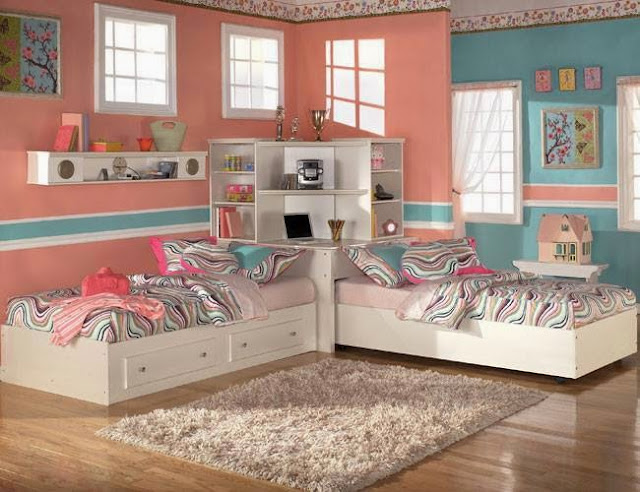 50 Kids Bedroom Design Ideas for Two Minimalists with Modern Design