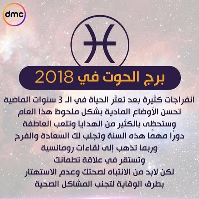 برج الحوت 2019