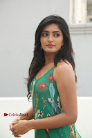 Actress Eesha Latest Pos in Green Floral Jumpsuit at Darshakudu Movie Teaser Launch .COM 0081.JPG