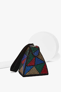 Electric Feels Embellished Bag