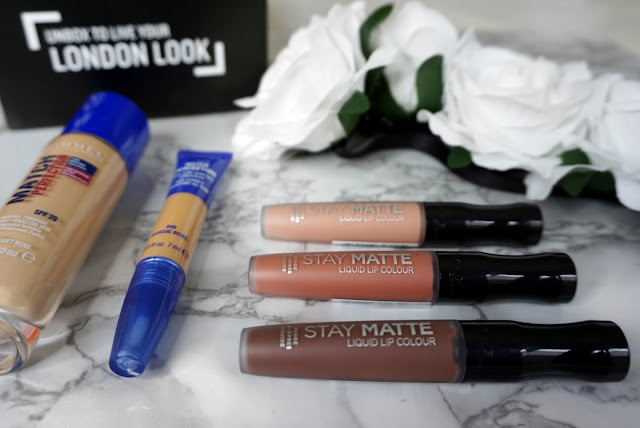 THE LOVE ISLAND LOOK WITH THE MATCH PERFECTION FOUNDATION, CONCEALER AND STAY MATTE LIQUID LIP COLOUR COLLECTION BY RIMMEL LONDON