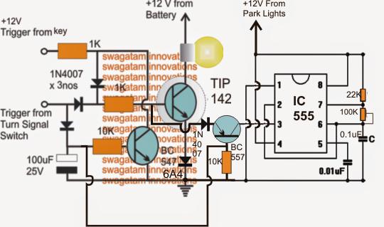 Modifying Car Turn Signal Lights Park Lights And Side