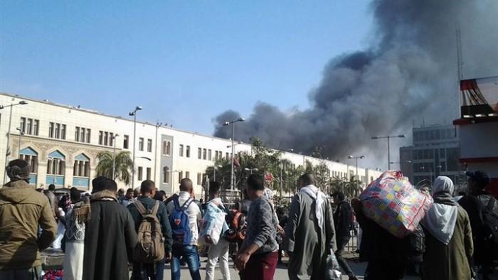 عــاجل .. حصيلة الوفيات والمصابين حتى الآن في حادث محطة مصر