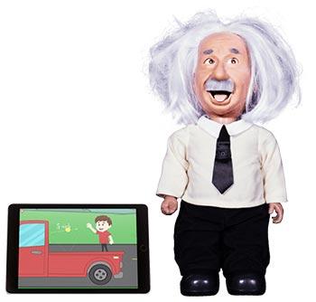 Robot Pintar Prof Einstein yang Bisa Menjawab Dan Melet Lidah