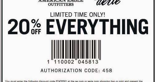 American Eagle Outfitters Printable Coupons February 2015