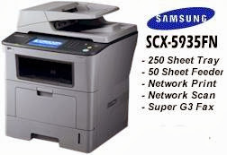 this Samsung Light Amplification by Stimulated Emission of Radiation printer is designed to fulfill the impress Download Driver Printer Samsung SCX-5935FN