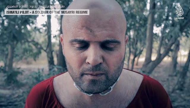 الطيار السورى عزام عيد بالنيران