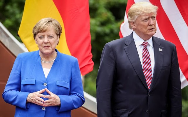 Germany steps up attack on Trump for 'weakening' the west