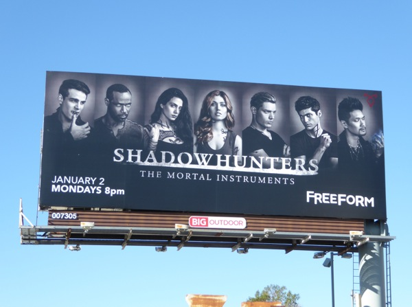 Shadowhunters season 2 billboard
