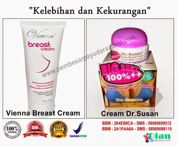 Kelebihan Kekurangan Viena Breast dan Cream Dr.Susan